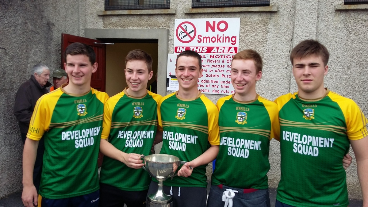 Meath U16B Hurling All Ireland Champions