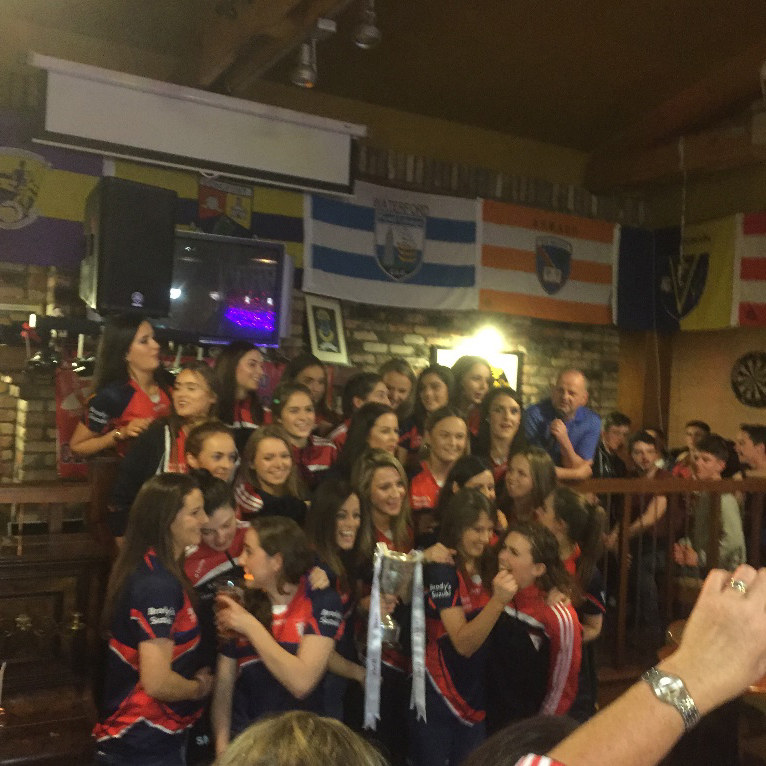 Ladies All Ireland Champs 2015 3