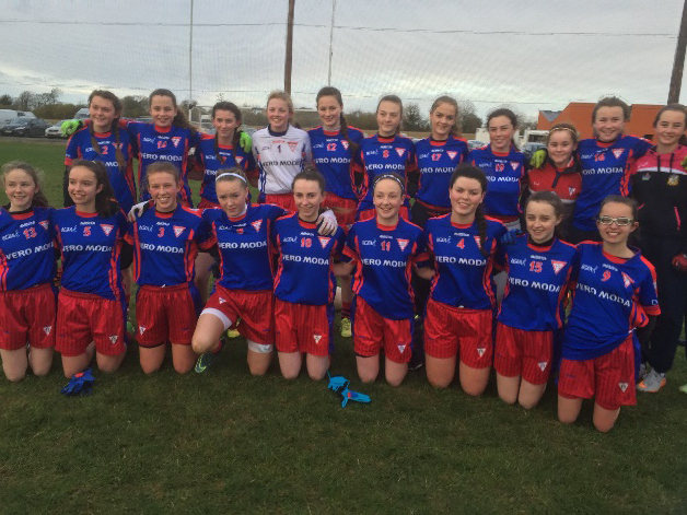 U16 Division Ladies 1 Champions 2015